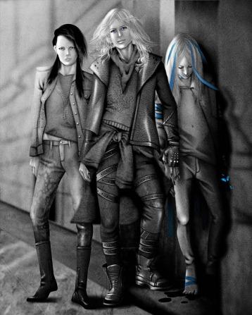 Grenda, Dante y Linder